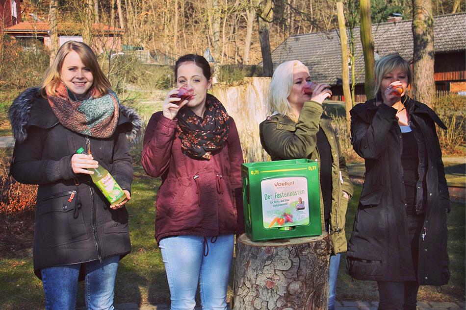 Blogbild: Voelkel Saftfasten-Teilnehmerinnen 2016